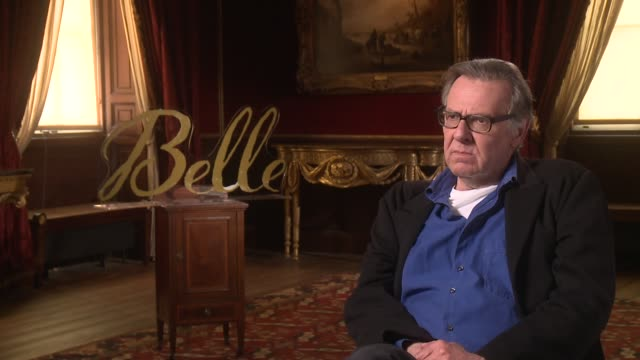 interview tom wilkinson on the film's appeal impotence of awards and his future as an actor at 'belle' interviews at kenwood house on june 05 2014 in... - tom wilkinson actor stock videos & royalty-free footage