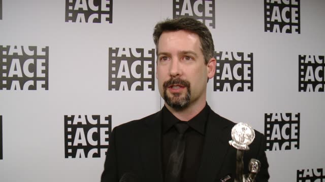 INTERVIEW Tom Wilson at 66th Annual ACE Eddie Awards in Los Angeles CA