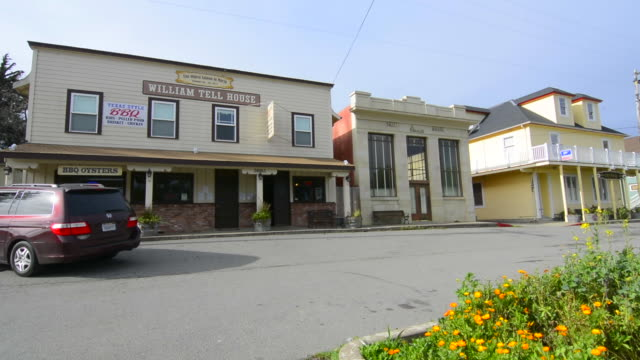Tomales California The Continental Hotel built in 1866 in small town  on Pacific Coast Highway Route 1 PCH #1