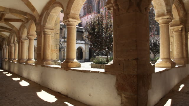 Tomar, Convent of the Order of Christ (Convento de Cristo), Hosterly cloister, built in 1541-1542