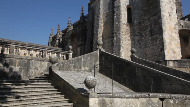 Tomar, Convent of the Order of Christ (Convento de Cristo), the main courtyard