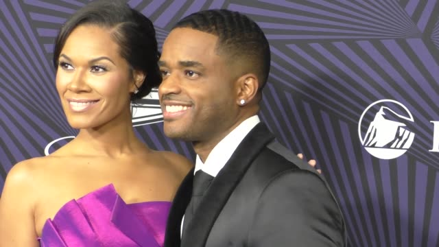tomasina parrott and larenz tate at the bet 2017 american black film festival honors awards at the beverly hilton hotel on february 17 2017 in... - larenz tate stock videos and b-roll footage