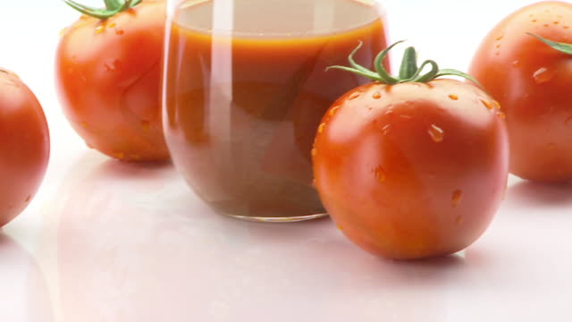 tomato juice montage commercial - tomato juice stock videos and b-roll footage