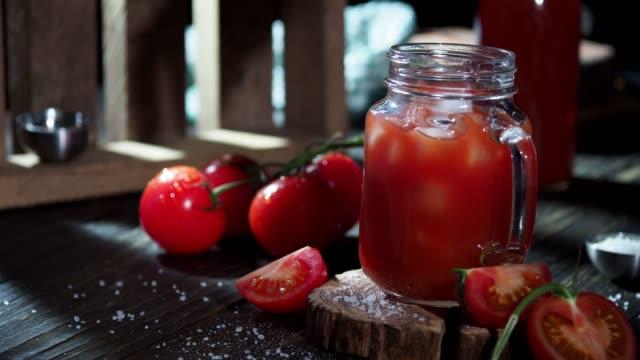 tomato juice - tomato juice stock videos and b-roll footage