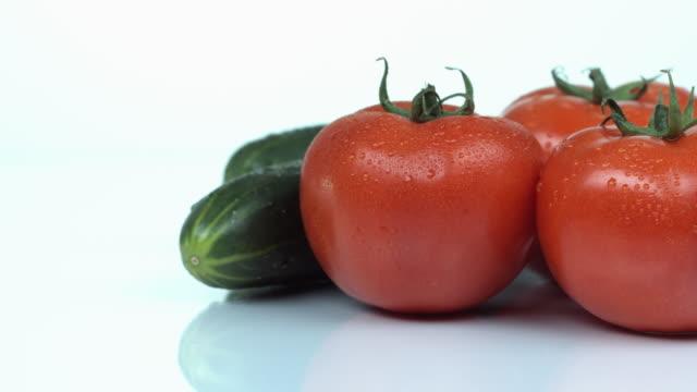 tomato - fünf gegenstände stock-videos und b-roll-filmmaterial