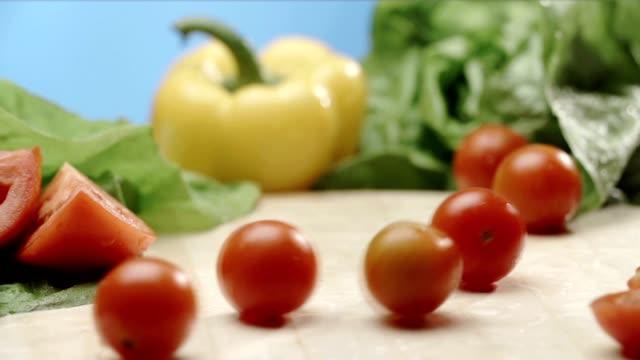 vídeos y material grabado en eventos de stock de tomates - rodar