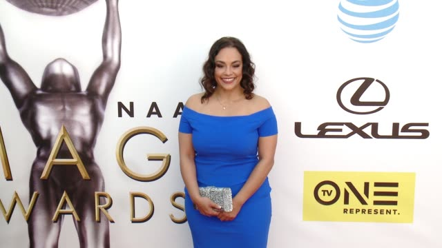 tomica woodswright at 47th annual naacp image awards at pasadena civic auditorium on february 05 2016 in pasadena california - pasadena civic auditorium stock videos and b-roll footage