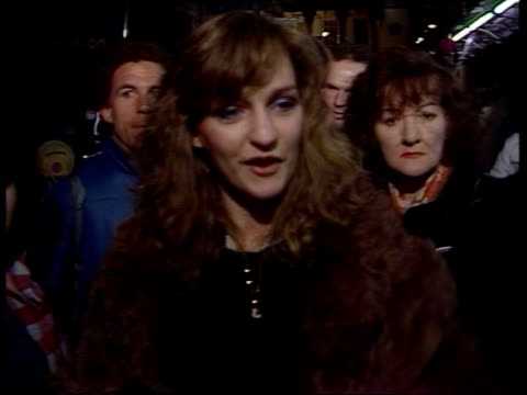 tommy cooper death b night london lms exterior of her majesty's theatre tms people outside stage door pan rl cms woman who witnessed cooper's death... - comedian stock videos and b-roll footage