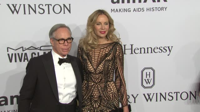 Tommy Hilfiger and Dee Ocleppo at amfAR to Honor Harvey Weinstein at Annual New York Gala at Cipriani Wall Street on February 10 2016 in New York City
