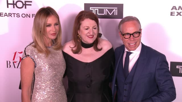 Tommy Hilfiger and Glenda Bailey at the Harper's BAZAAR Celebrates 150 Most Fashionable Women at Sunset Tower on January 27 2017 in West Hollywood...