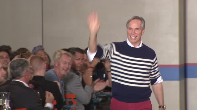 Tommy Hilfiger at the Tommy Hilfiger Spring 2012 MercedesBenz Fashion Week at New York NY