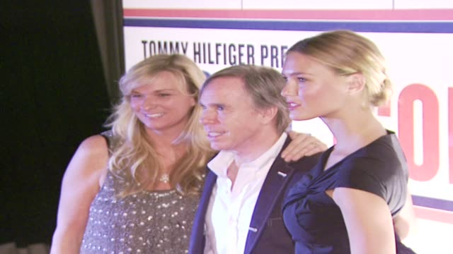 tommy hilfiger glynis costin bar refaeli at the in style magazine celebrates tommy hilfiger's ironic iconic america at los angeles ca - tommy hilfiger designer label stock videos and b-roll footage