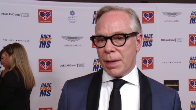 INTERVIEW Tommy Hilfiger on what being honored with the Medal of Hope Award means to him how the event has grown what he's most looking forward to if...