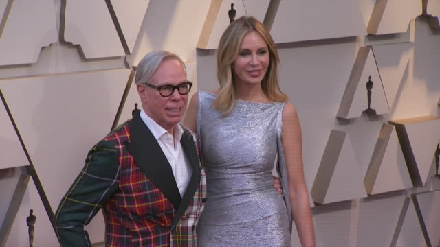 tommy hilfiger walking the red carpet at the 91st annual academy awards at the dolby theater in los angeles, california. - music or celebrities or fashion or film industry or film premiere or youth culture or novelty item or vacations 個影片檔及 b 捲影像