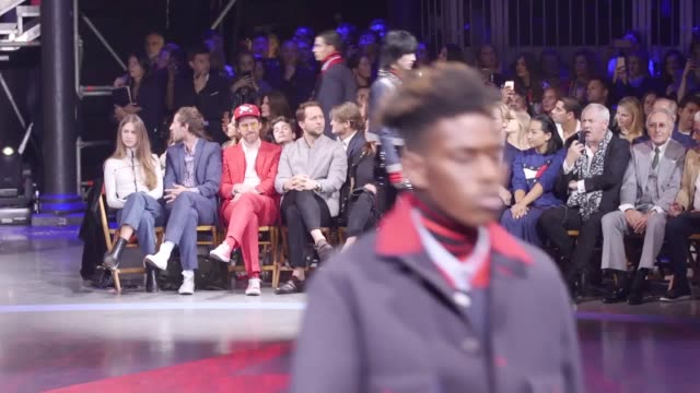 Tommy Hilfiger's catwalk show has marked the final day of London Fashion Week The show held in Camden featured models including Gigi Hadid