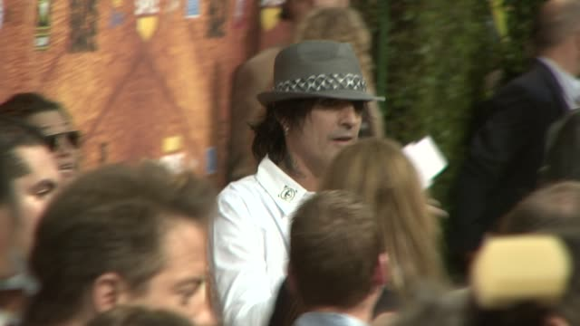 tommy lee at the spike tv's 2nd annual guys' choice awards at sony studios in los angeles california on may 31 2008 - spike guys choice awards video stock e b–roll