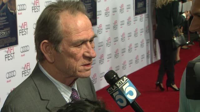 Tommy Lee Jones at AFI FEST 2014 Presented By Audi The Homesman Premiere at Dolby Theatre on November 11 2014 in Hollywood California