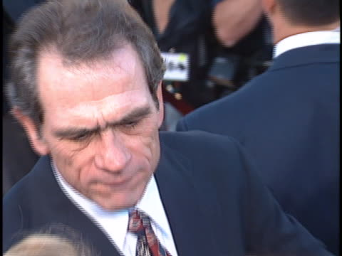 Tommy Lee Jones at the Batman Forever Premiere at Westwood in Westwood CA