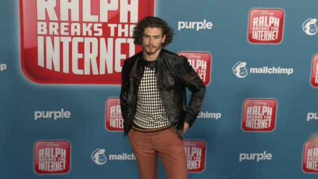"""tommy martinez at the """"ralph breaks the internet"""" world premiere at the el capitan theatre on november 05, 2018 in hollywood, california. - el capitan theatre stock videos & royalty-free footage"""