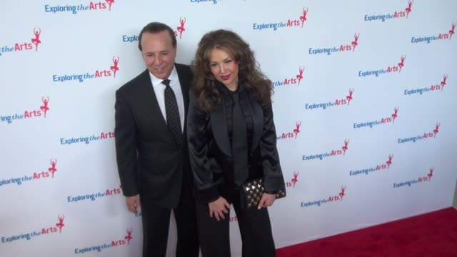 tommy mottola and singer tamia at tony bennett's 85th birthday celebration 09/18/11 - tony bennett singer stock videos and b-roll footage