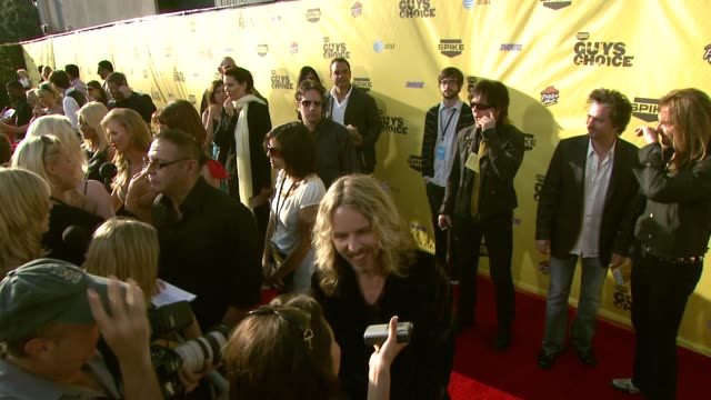tommy shaw of styx at the spike tv's guys' choice awards at radford studios in los angeles california on june 10 2007 - spike guys choice awards video stock e b–roll