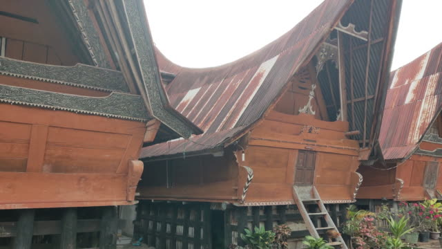 tomok village samosir island, toba east sumatera. - household equipment stock videos & royalty-free footage