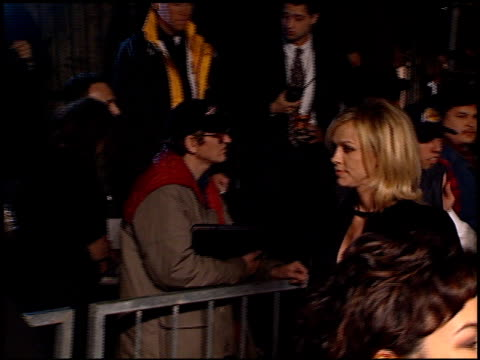 tomorrow never dies premiere at the 'tomorrow never dies' premiere at dorothy chandler pavilion in los angeles california on december 16 1997 - tomorrow never dies stock videos and b-roll footage