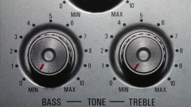 tone dials - turning stock videos & royalty-free footage