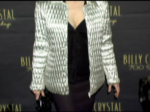 toni basil at the los angeles opening night of the tony award winning broadway show billy crystal '700 sundays' at the wilshire theatre in beverly... - billy crystal stock videos & royalty-free footage