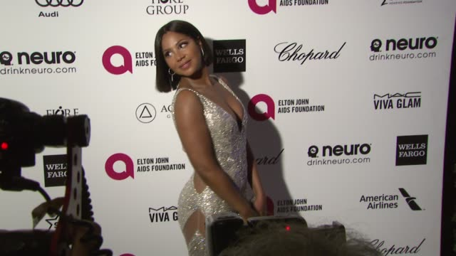 Toni Braxton at the 23rd Annual Elton John AIDS Foundation Academy Awards Viewing Party Sponsored By Chopard Neuro Drinks And Wells Fargo on February...