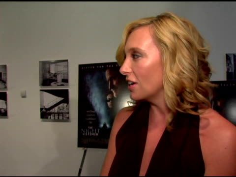 Toni Collette/ Actress She's wearing Donna Karan She talks about her character in the movie the ambiguity of the mystery working on 'In Her Shoes'...