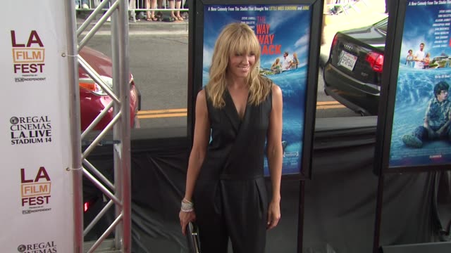 toni collette at 2013 los angeles film festival - the way, way back closing night premiere on 6/23/2013 in los angeles, ca. - toni collette stock videos & royalty-free footage