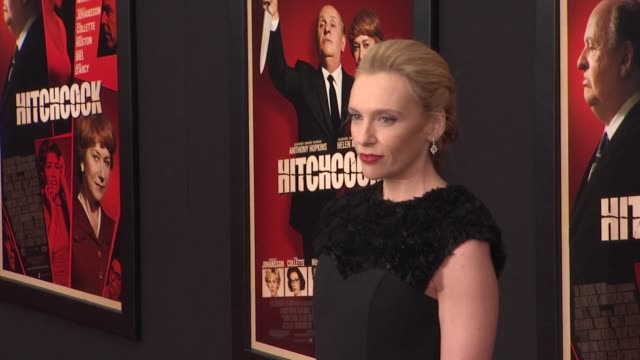 """toni collette at """"hitchcock"""" premiere at ziegfeld theatre on november 18, 2012 in new york, new york - toni collette stock videos & royalty-free footage"""