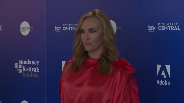 toni collette at picturehouse central on may 31, 2018 in london, england. - toni collette stock videos & royalty-free footage