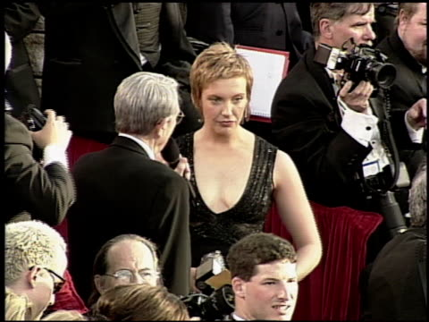 toni collette at the 2000 academy awards at the shrine auditorium in los angeles california on march 26 2000 - 72nd annual academy awards stock videos and b-roll footage