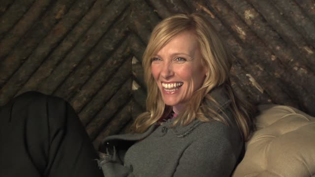 toni collette at the 2006 sundance film festival hp portrait studio presented by wireimage at wireimage studio in park city, utah on january 22, 2006. - toni collette stock videos & royalty-free footage