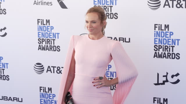 toni collette at the 2019 film independent spirit awards on february 23, 2019 in santa monica, california. - toni collette stock videos & royalty-free footage