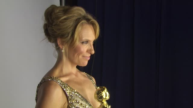 toni collette at the 67th annual golden globe awards - backstage - part 1 at beverly hills ca. - toni collette stock videos & royalty-free footage