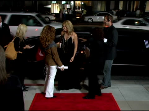 toni collette at the 'in her shoes' premiere at academy of motion picture arts & sciences in beverly hills, california on september 28, 2005. - toni collette stock videos & royalty-free footage