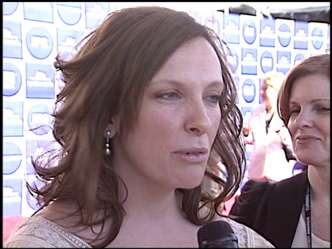 toni collette at the independent spirit awards at santa monica pier in santa monica, california on february 28, 2004. - toni collette stock videos & royalty-free footage