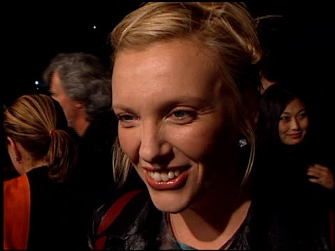 toni collette at the 'quills' premiere at academy theater in beverly hills, california on november 20, 2000. - toni collette stock videos & royalty-free footage