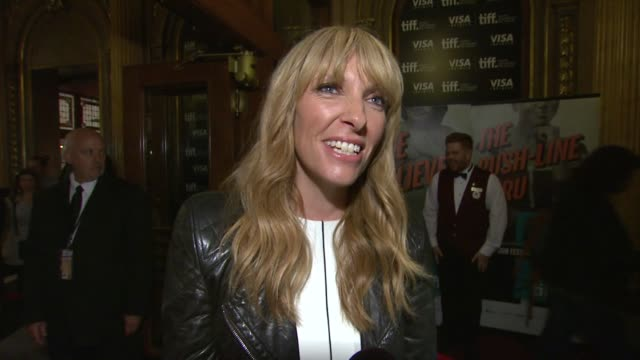 toni collette on the event at enough said premiere - 2013 toronto international film festival on 9/7/2013 in toronto, canada. - toni collette stock videos & royalty-free footage