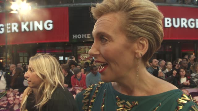 toni collette on the film being a challenge for her, on cancer, on her friendship with drew barrymore at 'miss you already' uk film premiere on... - toni collette stock videos & royalty-free footage