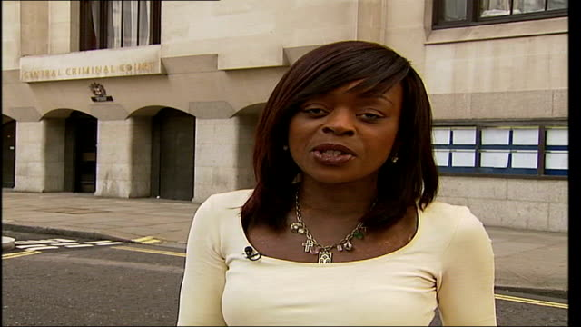 defendant gives evidence old bailey reporter to camera - defendant stock videos & royalty-free footage