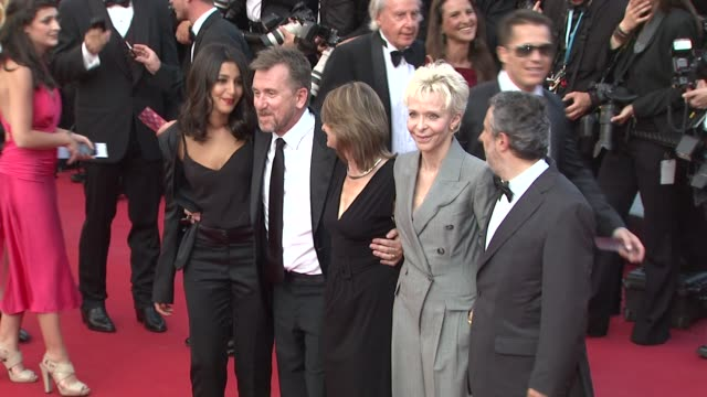 tonie marshall sylvie pras tim roth leïla bekhti and luciano monteagudo at mud premiere 65th cannes film festival at lumiere on may 26 2012 in cannes... - tim roth stock videos and b-roll footage