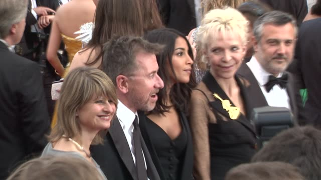 tonie marshall tim roth leila bekhti and luciano monteagudo at de rouille et d'os premiere 65th cannes film festival on may 17 2012 in cannes france... - tim roth stock videos and b-roll footage