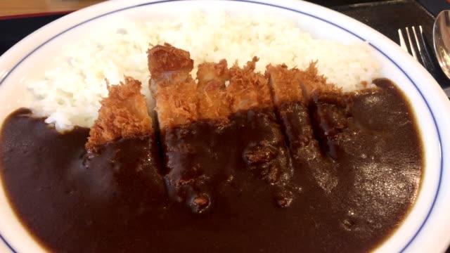 vidéos et rushes de tonkatsu - bol à soupe