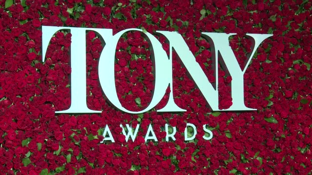 tony awards red carpet at the beacon theatre on june 12 2016 in new york city - 70th annual tony awards stock videos and b-roll footage