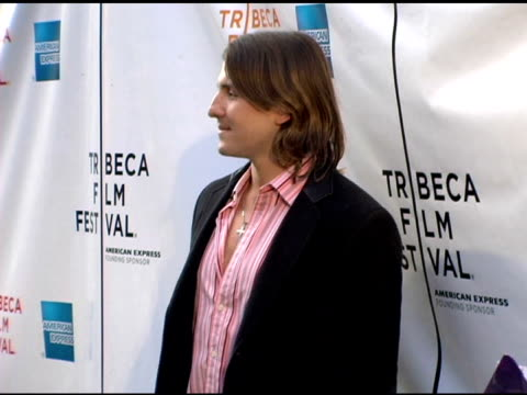 tony azevedo at the 2006 tribeca film festival 'full grown men' and 'freedom's fury' at amc loews 11th st cinemas in new york new york on april 27... - amc loews stock videos and b-roll footage