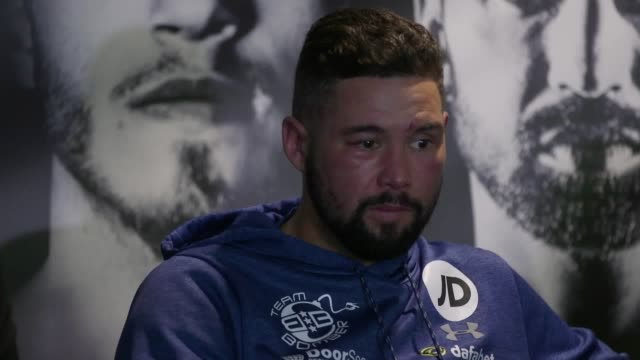 tony bellew dramatically secured one of the biggest upset victories in british boxing history when david haye was withdrawn in the 11th round at... - david haye stock videos and b-roll footage
